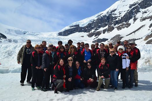Group on the Glacier
